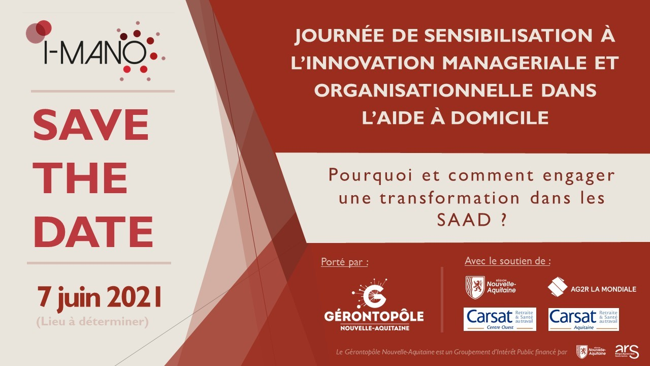 Inscrivez-vous à la Journée de sensibilisation à l'innovation managériale le 07 juin