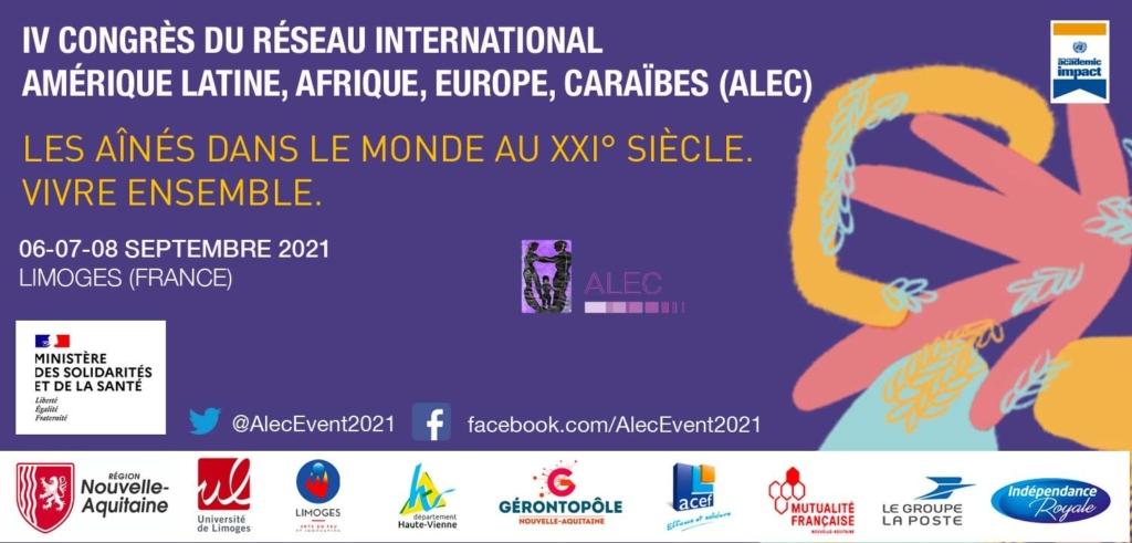 """Le Gérontopole Nouvelle-Aquitaine partenaire du IV Congrès International ALEC """"Les aînés dans le Monde au XXI° siècle. Vivre ensemble"""""""