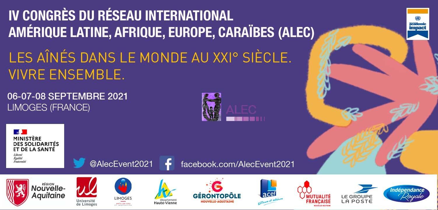 Le Gérontopole Nouvelle-Aquitaine partenaire du IV Congrès International ALEC «Les aînés dans le Monde au XXI° siècle. Vivre ensemble»